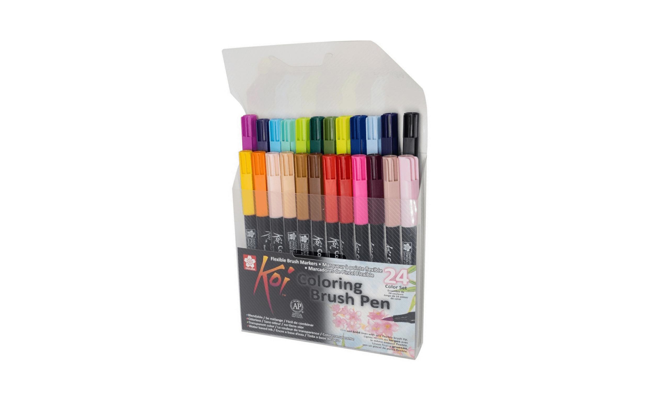 Sakura Koi Coloring Brush Pen Set (24 Color Set) – Dbassa